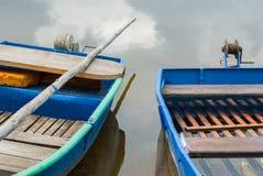 Due barche Immagine Stock
