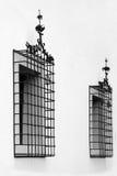 Due barre di finestra piacevoli Immagine Stock