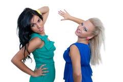 Due belle giovani donne Immagine Stock Libera da Diritti
