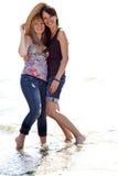 Due belle ragazze Fotografia Stock Libera da Diritti