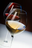 Due bicchieri di vino Immagine Stock Libera da Diritti