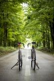 Due biciclette fotografia stock libera da diritti