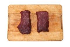 Due bistecche del cammello Fotografia Stock Libera da Diritti
