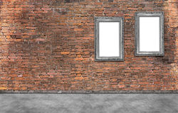 Due blocchi per grafici d'argento Fotografie Stock
