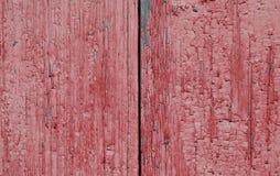 Due bordi dipinti nel rosso Fotografia Stock Libera da Diritti