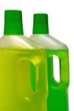 Due bottiglie del pulitore Immagine Stock Libera da Diritti