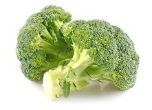 Due broccolis Immagine Stock