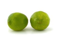 Due calce verdi Fotografia Stock