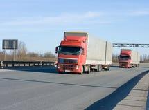Due camion immagine stock libera da diritti