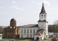 Due chiese a Smolensk, Russia Fotografia Stock