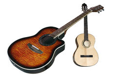 Due chitarre Immagini Stock