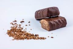 Due cioccolato Fotografia Stock
