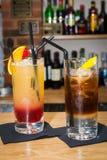 Due cocktail Immagini Stock