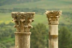Due colonne romane Immagini Stock Libere da Diritti