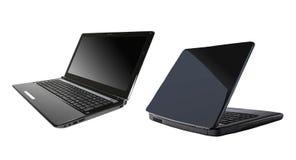 Due computer portatili immagini stock