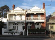 Due costruzioni di architettura vittoriana a Melbourne, Australia Immagine Stock Libera da Diritti
