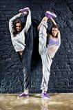 Due danzatori delle donne Immagine Stock Libera da Diritti