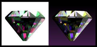 Due delle gemme dei gioielli. Vettore Fotografia Stock Libera da Diritti