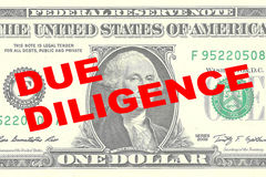 Due Diligence concept Royalty Free Stock Image