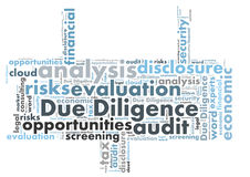 Due Diligence Royalty Free Stock Images