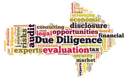 Due Diligence Royalty Free Stock Image