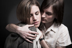 Due donne Immagini Stock Libere da Diritti