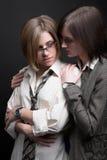 Due donne Fotografie Stock