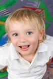 Due e ragazzo mezzo di anni. Fotografie Stock Libere da Diritti