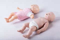 Due fantasmi del bambino Immagine Stock