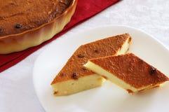 Due fette di torta di formaggio Immagine Stock