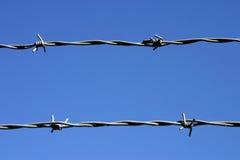 Due fili di filo. Immagine Stock