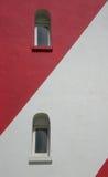 Due finestre è faro Fotografia Stock