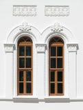 Due finestre antichissime Immagini Stock