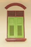 Due finestre vicine di tono Fotografia Stock Libera da Diritti