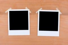 Due foto istantanee Fotografie Stock
