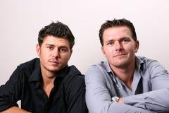 Due fratelli Immagini Stock Libere da Diritti