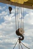 Due ganci di sollevamento Fotografia Stock Libera da Diritti