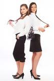 Due giovani donne attraenti di affari Fotografia Stock