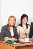 Due giovani donne di affari Immagine Stock Libera da Diritti