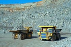 Due grandi camion Fotografia Stock Libera da Diritti
