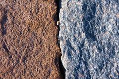 Due grandi pietre vicine Immagine Stock Libera da Diritti