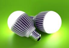 Due hanno condotto le lampade Fotografia Stock Libera da Diritti