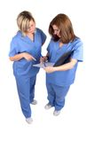 Due infermiere fotografia stock libera da diritti