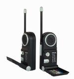 Due insiemi radiofonici portatili neri Immagine Stock Libera da Diritti