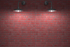 Due lampade di notte Immagine Stock Libera da Diritti