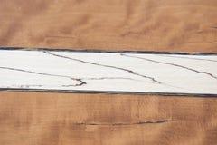 Due legno Fotografia Stock Libera da Diritti