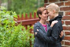 Due lesbiche Fotografie Stock Libere da Diritti