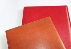Due libri immagini stock