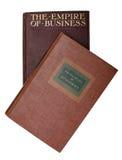 Due libri su economia Fotografia Stock