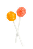 Due lollipops Fotografia Stock
